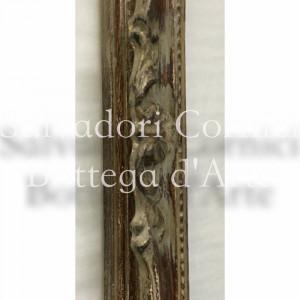 Scatola in legno grezzo ovale per decoupage