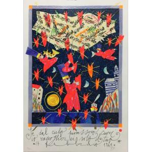 Checchi Chiara - dipinto a olio paesaggio toscano