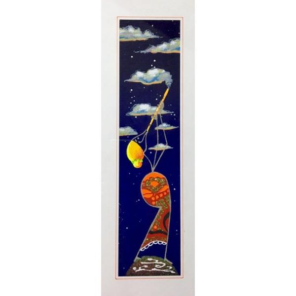 Tintoretto pennello piatto pelo di bue serie 940