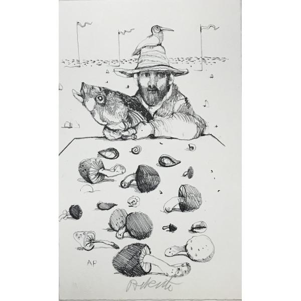 Azzinari Franco - litografia