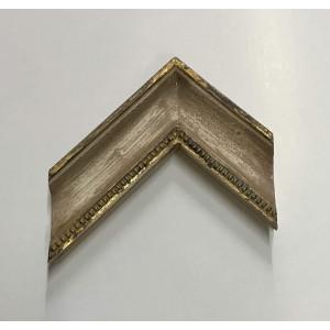 Cornice Francesina - foglia oro