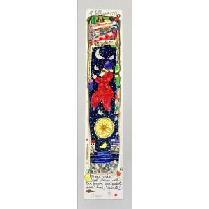 Stecca in legno lunghezza 20cm n°4  - Made in Italy