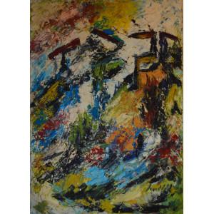 Scardigli Marino - Paesaggio astratto